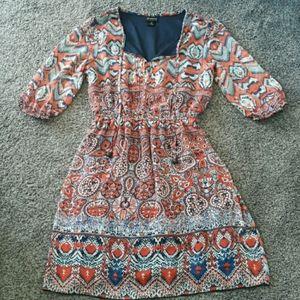 En Focus Studio Fun Print Dress